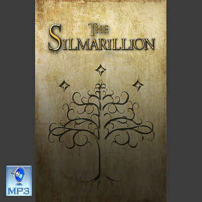 Lord Of The Rings - THE SILMARILLION - JRR Tolkien - UNABRIDGED MP3 CD