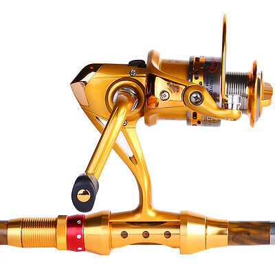 Fishing Rod and Reel Telescopic Spinning Fishing Combos Travel Fishing Tackles