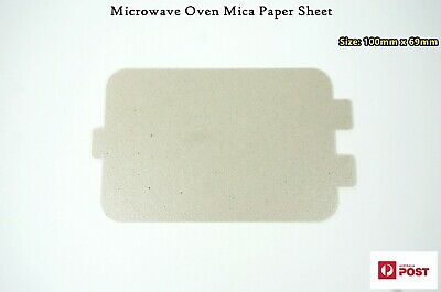Microwave Oven Spare Parts Mica Paper Sheet Plates 100mmx69mm (A200) Brand NEW