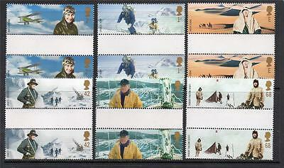 Gb Mnh 2003 Sg2360-2365 Extreme Endeavours Set Of 6 Gutter Pairs