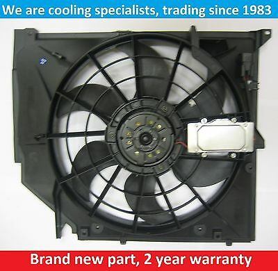 Brand New Radiator Cooling Fan Assembly Bmw 3 Series E46 Petrol 1998 To 2005