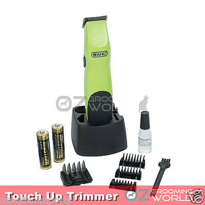 WAHL Touch Up Pet Trimmer Cordless for Dog Pet Horse Paw face Grooming Clipper