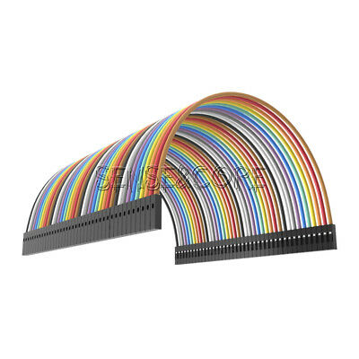 40PCS Female To Female Dupont wire cables jumpers 10CM 2.54MM 1P-1P For Arduino