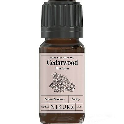 10ml CEDARWOOD ESSENTIAL OIL - 100% Pure and Natural (Aromatherapy)