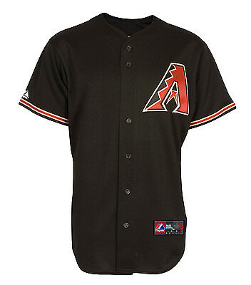 MLB Baseball Trikot Jersey ARIZONA DIAMONDBACKS Road black von Majestic