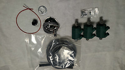honda cbx dyna ignition/ coils/ 8mm wires kit -fits all years