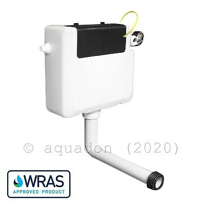 Front & Top Easy Access Concealed Dual Flush WC Toilet Cistern
