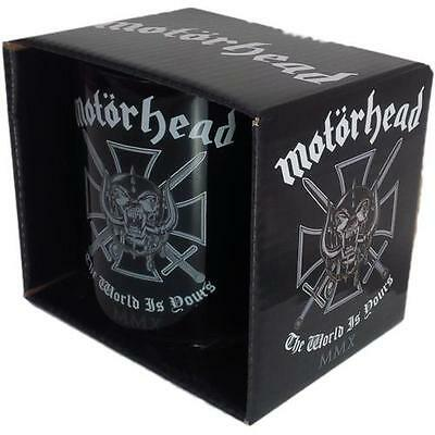 Motorhead - The World Is Yours Ceramic Tea / Coffee Mug - New & Official In Box