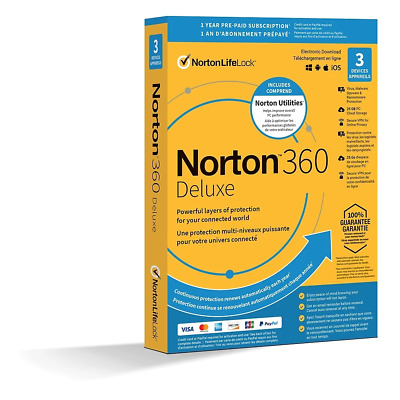 Norton Internet Security 2019 - 1 User - 1 PC, 1 Year (Windows)