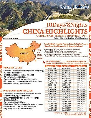 China Tour Holidays