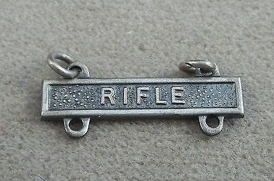 US Army Qualification Badge Attachment Bar Rifle