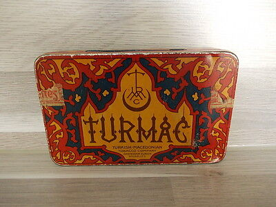 Nice Turmac 25 cigarettes tin box