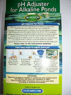 Blagdon PH Adjuster for Alkaline Ponds