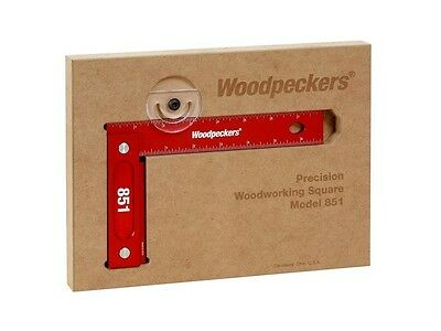 "Woodpeckers Woodworking Tools 851 Square 8"" with Case"