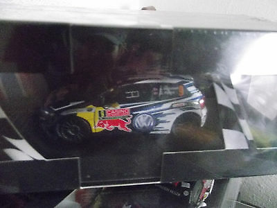 POLO R WRC MONTE CARLO 2015 mikkelsen  IXO DIE CAST COLLECTION