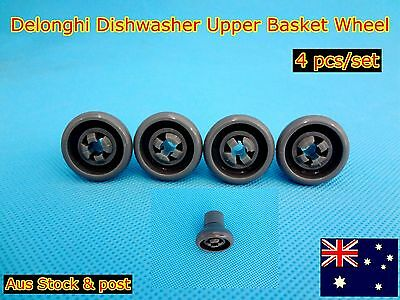 Delonghi Dishwasher Spare Parts Upper Basket Wheel Replacement Grey (C309) NEW