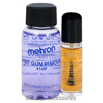 A850 Mehron Spirit Gum Adhesive & Remover Special Effect Glue Adhesive Makeup