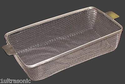 ULTRASONIC CLEANING BASKET CP1875 STAINLESS #4 WIRE MESH 18-3/4 x 10-3/4 x 4-1/2