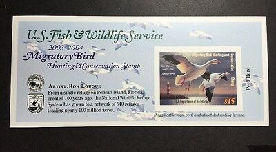 #RW70A 2003 - 2004 - US Federal Duck Stamp - Post Office FRESH