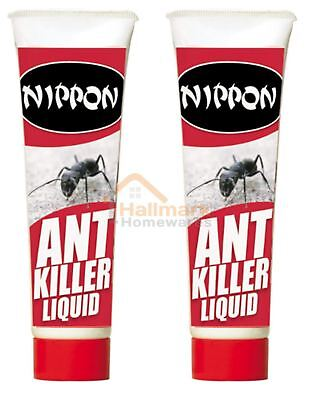 2 x Nippon Ant Insect Killer Liquid 25g