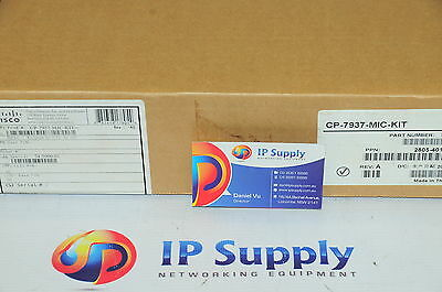 *New* Cisco CP-7937-MIC-KIT Conference Station Microphone Kit 6MthWty TaxInv