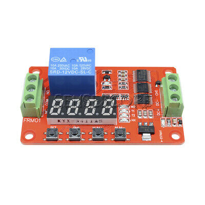 12V Relay Cycle Timer Module * PLC Home Automation Delay Multifunction CLOCK