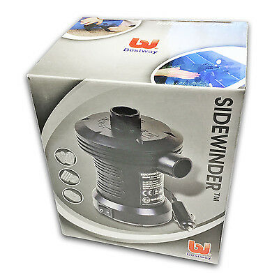 12v Car Cigarette Lighter Powered Air Pump Camp Camping Inflatable Airbed Bed~UK