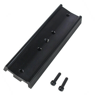 New Dovetail Mounting Plate for Equatorial Tripod Long Version 130mm metal alloy