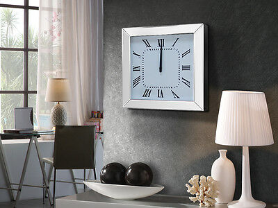 Schuller 483490 Reloj de pared ADAM wall clock silver design decoration home