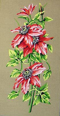 Gobelin L  Printed Tapestry/Needlepoint  Canvas - Clementis