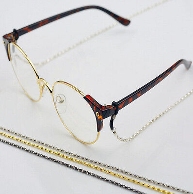 Cord Glasses Holder Neck Sunglasses Reading Metal Strap Color  Chain Spectacles