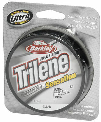 0,02€/m Berkley Trilene Sensation Super Strong - Clear 300m