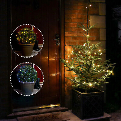10-20m Battery Power Outdoor LED Fairy String Lights | Home Garden Tree Party
