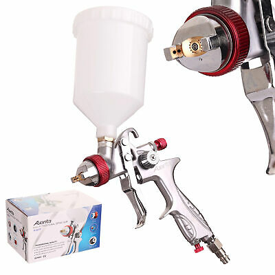 ONE OF THE BEST Auarita H-887P Silver Polish Spray Paint Gun HVLP Nozzle 1,3