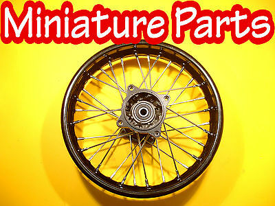 Pit Bike Rear Wheel14Inch Back Wheel Wpb M2R Lmx Crf110 Crf70 15Mm Spindle 14""