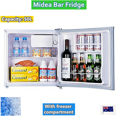Midea Bar Fridge Refrigerator 50L (White) (Brand New) model HS-65LN