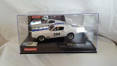 Carrera Evolution 27450 Ford Mustang Gt #289 White New Boxed 1/32