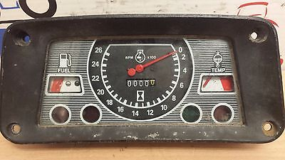 Ford-New-Holland-Tractor-Anolog dash #81818095