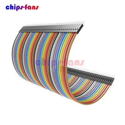 Durable 120pcs Dupont 10CM Male To Male Jumper Wire Ribbon Cable for Breadboard