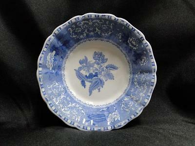 """Copeland Spode's Camilla Blue, Floral: Fruit Bowl (s), 5 1/4"""" x 1 1/4"""" Tall"""