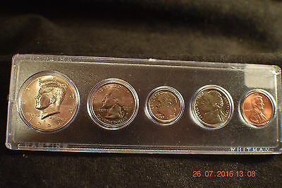 "1999-P (5) Coin Year Set ""BU"" unc ""end of 1900's"".......#1182"