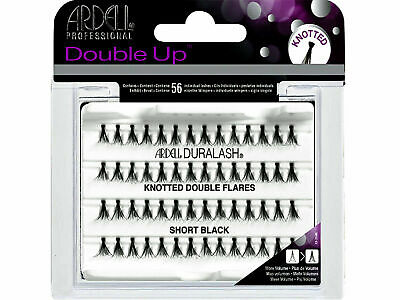 416746fe6c1 ARDELL DOUBLE UP Knotted Eye Lashes Short Black #68290 free shipping ...