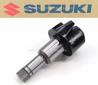 New Genuine Suzuki Water Pump Impeller & Shaft 2002-2016 RM85 RM85L OEM #X195