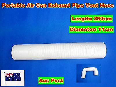 Portable air conditioner Spare parts Exhaust pipe vent hose only (250cmx11cm)
