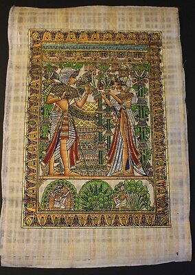 The Wedding Card of King Tut Ank Amon and His Wife