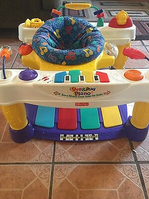 Fisher Price step and play Piano play station