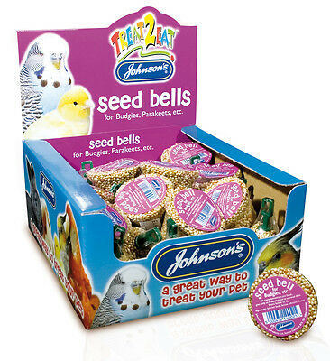 Johnsons Budgie Seed Bell X1