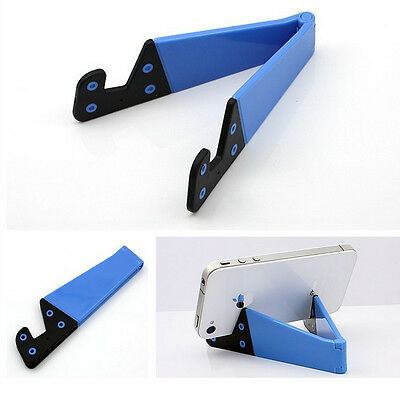 Collapsible Exquisite Generic Bracket Stand Holder V Shaped For Phone And Tablet