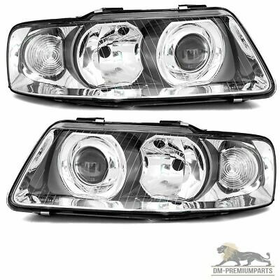 Audi A3 8L Facelift Scheinwerfer Klarglas Chrom SET Rechts Links 08/2000 - 2003