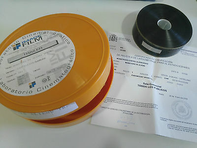 MONSTERS VS ALIENS MONSTRUOS VS ALIENIGENAS 35mm MOVIE TRAILER SPANISH ORIGINAL